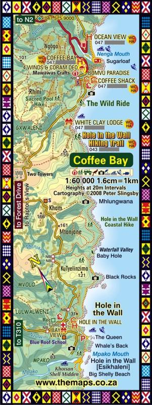Coffee Bay Map