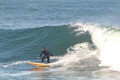 Surfing at Morgan Bay on the Wild Coast