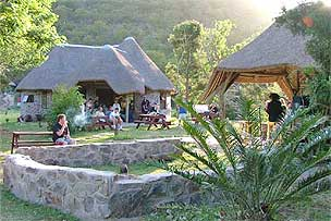 Africa themed accommodation